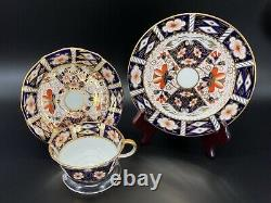 Royal Crown Derby Imari Tea Trio Set Bone China England Great Condition