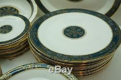 Royal Doulton China Set Carlyle Pattern 63 Pc Set Service For 12 H5018 England