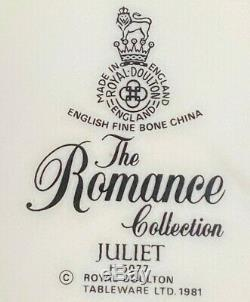 Royal Doulton Juliet Romance 6- 5pc Place Settings 30pcs England Fine Bone China
