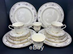 Royal Doulton Rebecca 5 pieces Plate Setting for 4 Bone China England 20 pieces