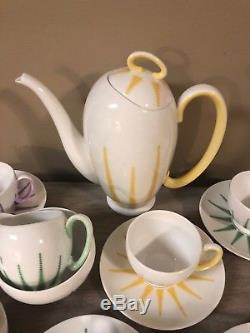 Royal Stafford Bone China Starlite Coffee Set Merlin Ware England