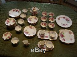 Royal Standard Orleans Rose Fine Bone China England -! HUGE SET