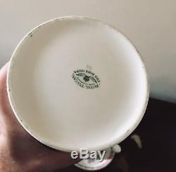 Royal Tuscan C8363 Scalloped Bone China Chocolate Coffee Set 8 Vintage England