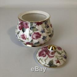 Royal Victorian Fine Bone China 5 Piece Coffee Tea Set Made in England NOS