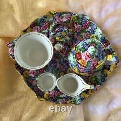 Royal Winton Julia Chintz Breakfast Set 1995