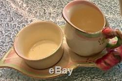 Royal Winton Tea Set Tiger Lily Antique Bone China Pattern 5773 Tea Pot Cup