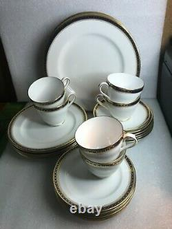 SPODE Copeland's China England MAJESTIC DINNERWARE SET 6 PLACE SETTINGS(5 PCS)