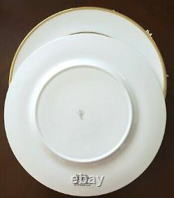 Set/4 NWT ROYAL DOULTON ALICE Set of 4 Dinner Plates 10 3/4 Bone China England