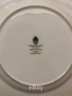Set 5 Wedgewood Coalport Countryware England Bone China 8 1/4 Inch Salad Plates