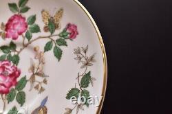 Set 6 Wedgwood Charnwood England China Double Handle Cream Soup Bowls 3984