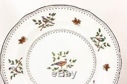 Set 8 Dinner Plates Antique Copeland Spode China England Randall's Birds 2/6666
