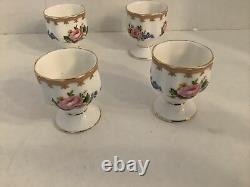 Set Of 4-Royal Albert Lady Carlyle Fine Bone China Single Egg Cup England