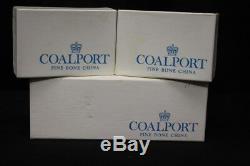 Set of 12 Vintage COALPORT Shrewsbury Fine Bone China Napkin Rings England