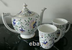 Set of 3 Coalport China, Tea Pot, England