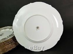 Set of 6 COALPORT Kings Plate Bone China Dinner Plate 10 1/2 England