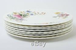 Set of 8 Royal Doulton England Fine Bone China Arcadia Dinner Plates 10.75