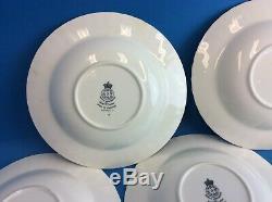 Set of 8 Vintage Royal Worcester Fine Bone China Lavinia England Bowls Dishes