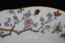 Set of 8 Vintage Spode SHANGHAI 10 1/4 Dinner Plates Bone China England MINT