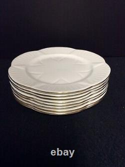 Set of Eight(8) Shelley- England Fine Bone China 8 1/8 Plates