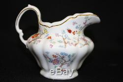 Set of Vintage Spode SHANGHAI Creamer & Sugar Bowl Bone China England MINT