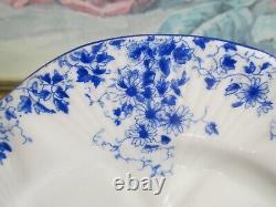 Shelley Dainty Blue Bone China England Set of 10 Salad Plate