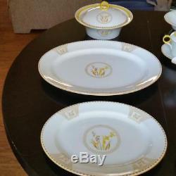 Shelley Fine Bone China England Set Lot Dinner Plate Teacup Saucer 795072 12358