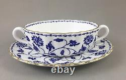 Spode China England Blue Colonel Y6235 6 Place Setting Dinner Service 36 Pieces