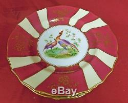 Spode Copeland's China 10 3/4 Dinner Plates Fine Bone China England Set of 8