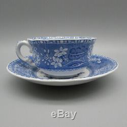 Spode England China Camilla Blue Service for Four 20pc Set