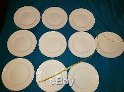 Spodes jewel england copeland 70392 bone china 20 pc set 10 dinner salad plates