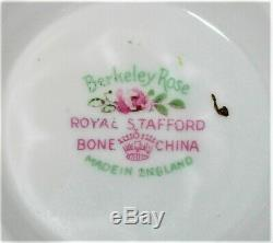 Super Rare Royal Stafford Berkeley Rose Bone China Tea Set England