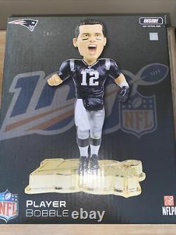 TOM BRADY New England Patriots NFL All-Time Team EXCLUSIVE Bobblehead Set #/100