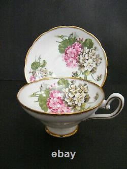 Taylor & Kent England Antique Fine Bone China Tea Cup & Saucer Set