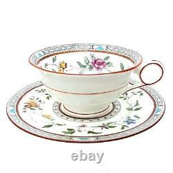 Tiffany & Co By Cauldon China England Tea Cup Set Porcelain Cup Saucer ANTIQUE