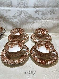 VICTORIAN RADFORDS BONE CHINA FENTON, CUP & SAUCER, MADE IN ENGLAND, Set Of 4 (#4)