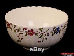 Vintage Copeland Spode England Wicker Dale 50pc Large Floral Rim China Set L2Z