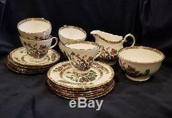 Vintage Duchess Bone China 18 pieces Set Tea/ Dessert Made in England