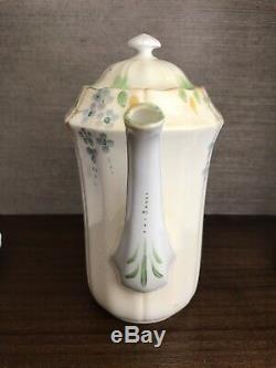 Vintage E. Hughes Fenton Paladin Fine Bone China Tea Set Teapot England 1930s
