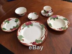 Vintage Franciscan Apple Pattern China Made in England/Portugal 90-pc. Set