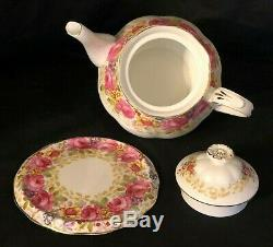 Vintage Nwot Royal Albert Bone China Serena England 24 Pc Tea Set Service For 6