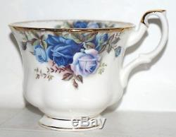 Vintage Royal Albert Bone china England Moonlight Rose tea set of 23