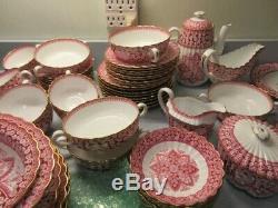 Vintage Spode Primrose fine china England set, Service of 8, accesories