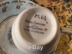 Vintage Tea Cup & Saucer Sets 7 English Bone and Fine Bone China Sets