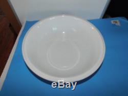 Vintage White Royal Ironstone China Pitcher Ewer & Wash Basin Bowl Set England