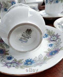 Vintage paragon England cherwell fine bone china Coffee/Tea Set