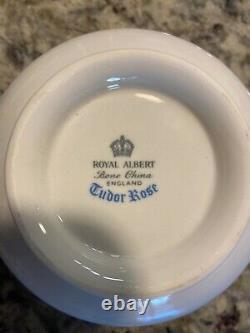 Vintage royal albert tudor rose bone china set made in England