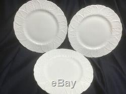 WEDGWOOD COUNTRYWARE set of 3 DINNER PLATES made in ENGLAND pristine FINE CHINA