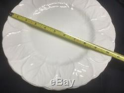 WEDGWOOD COUNTRYWARE set of 7 DINNER PLATES in ENGLAND fine CHINA BEAUTIFUL