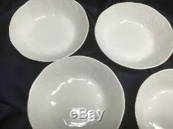 WEDGWOOD STRAWBERRY & VINE set of 6 CEREAL BOWLS fine bone china MADE IN ENGLAND