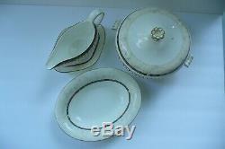 Wedgwood Bone China Harlequin England, 1997 set of 3 tableware (5 pieces)